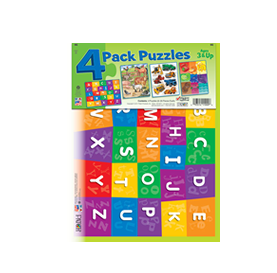 4-PACK PUZZLES