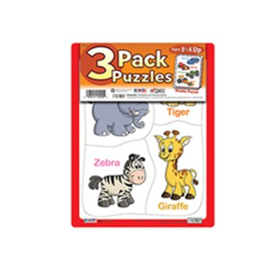 3 PACK PUZZLES   MIDDLE