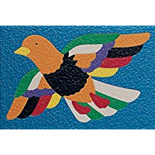 CREPE RUBBER PUZZLE -BIRD
