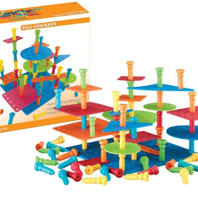TALL-STACKER PEGS & BUILDING SET