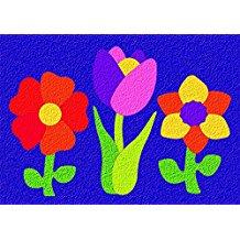 CREPE RUBBER PUZZLE-FLOWER