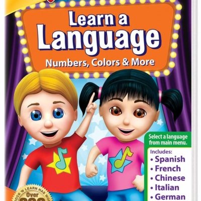 LEARN A LANGUAGE : NUMBERS, COLORS & MORE