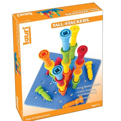 DELUXE TALL- STACKER PEGS &PEGBOARD