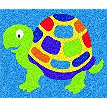 CREPE RUBBER PUZZLE-TURTLE