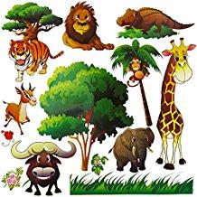 PEEL & STICK: WILD ANIMAL