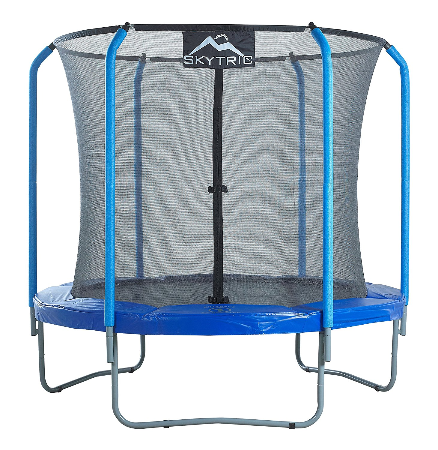SKYTRIC 8FT TRAMPOLINE WITH TOP RING ENCLOSURE - Attainables