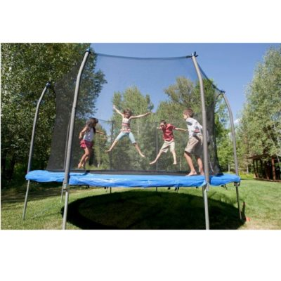 SKYTRIC 13FT TRAMPOLINE WITH TOP RING ENCLOSURE SYSTEM