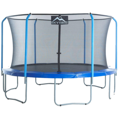 SKYTRIC 11FT TRAMPOLINE WITH TOP RING ENCLOSURE