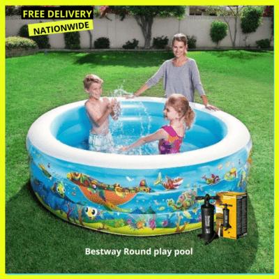 Bestway Round play pool 77″ x H21″1.96m x H53cm