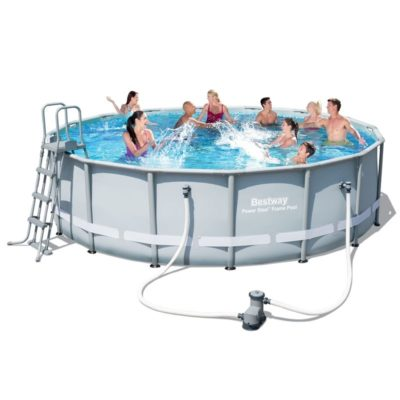 POWER STEEL 16′ x 48″ POOL SET