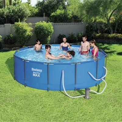 12ft Steel Pro Max Round Pool Set