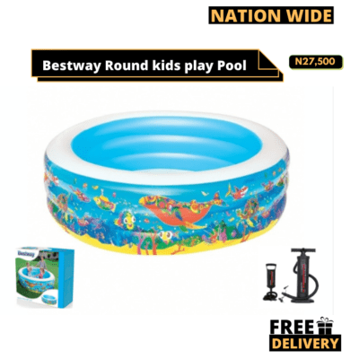 Bestway Round play pool 77″ x H21″1.96m x H53cm