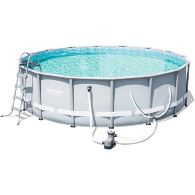 POWER STEEL 14′ x 42″ POOL SET