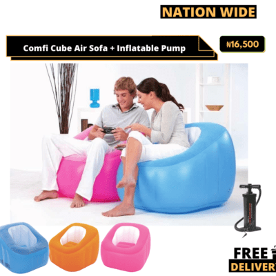 Comfi Cube Air Sofa + Manual pump