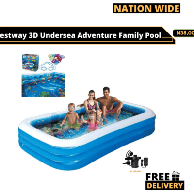 Bestway 3D – Undersea Adventure Pool