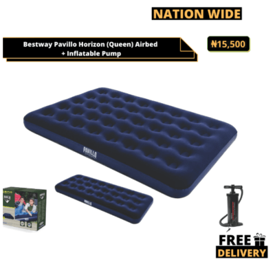 Bestway Pavillo Horizon Airbed (Queen) + Manual Pump