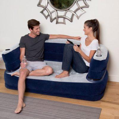 Bestway Bestway Deluxe Air Couch + Electric Pump